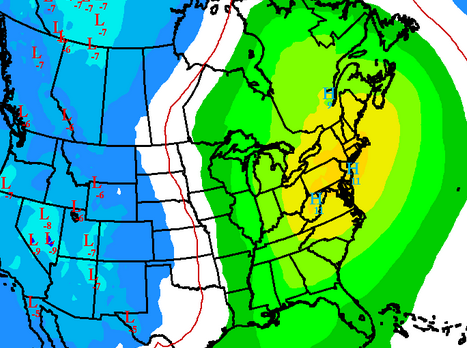 Day 6-10 00z Euro Ensemble 850mb T Anomalies