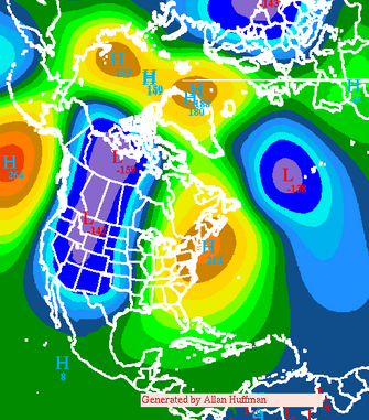 Day 6-10 00z Euro Ensemble 500mb Height Anomalies