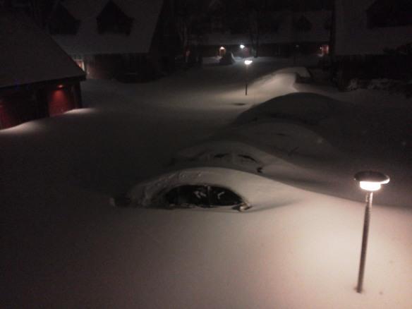 Blizzard of 2013 / Courtesy: Chad Lyons in Branford