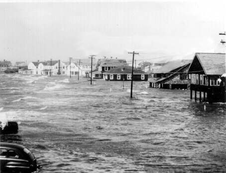 Hurricane Carol in Groton Long Point (photo credit http://www.tedknowlton.com)