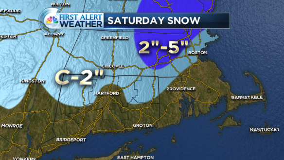 11 p.m. Friday Forecast