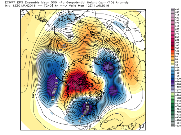 ECMWF Ensemble (WMO Essential) / WeatherBell
